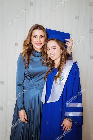 Princess Salma graduation ceremony, The International Academy, Amman