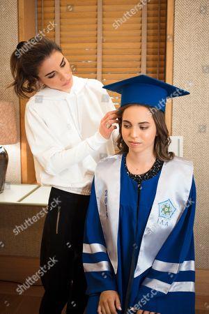 Editorial photo of Princess Salma graduation ceremony, The International Academy, Amman, Jordan - 22 May 2018