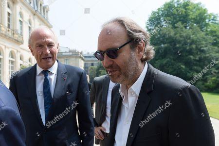 Jean-Paul Agon and Xavier Niel