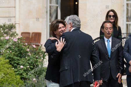 Isabelle Kocher and Maurice Levy