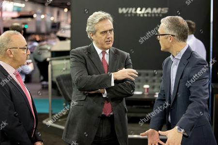Mark Garnier MP, Minister for International Trade visits Seaglaze at the London Boat Show 2017