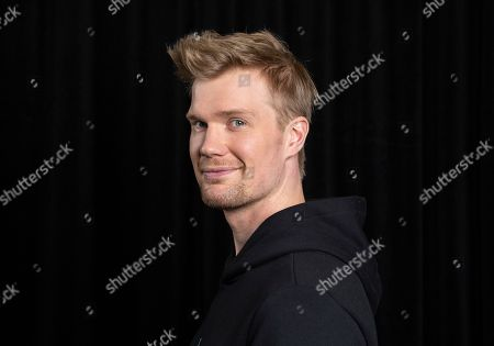 """Finnish actor Joonas Suotamo, who portrays Chewbacca in """"Solo: A Star Wars Story,"""" appears at a photo shoot to promote the film in Pasadena, Calif. Suotamo, a former basketball player who is 6-foot-10, said original Chewie actor Peter Mayhew helped him to learn movements and sounds for the role"""