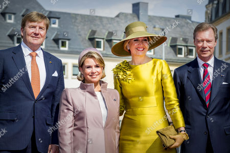 Dutch royals visit to Luxembourg, Day 1