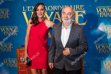Berenices Bejo and Gerard Jugnot