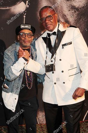 Spike Lee and Jamel Shabazz