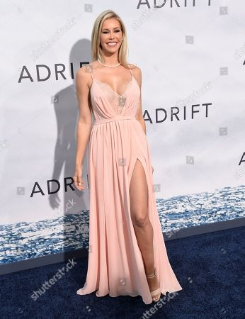 """Kennedy Summers arrives at the Los Angeles premiere of """"Adrift"""" at Regal Cinemas L.A. Live on"""