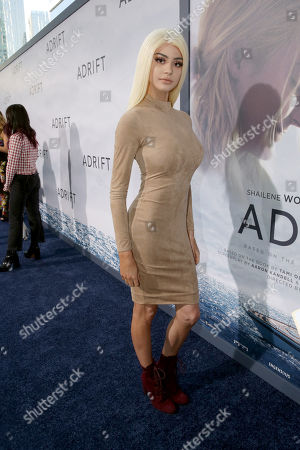 Editorial picture of 'Adrift' film premiere, Arrivals, Los Angeles, USA - 23 May 2018