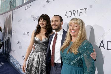 Shailene Woodley, Sam Claflin, Tami Oldham Ashcraft, Author