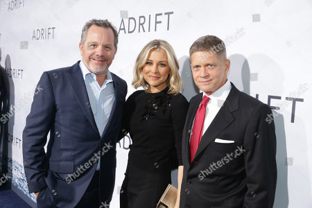 Bill McGlashan, Founder and Managing Partner, TPG Growth, and STX Entertainment Board Member, Anne Biondi, Robert Simonds, Chairman and CEO, STX Entertainment,
