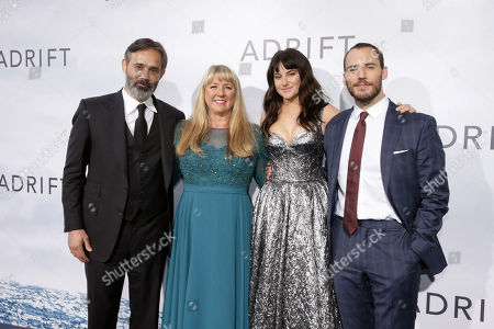 Baltasar Kormakur, Director/Producer, Tami Oldham Ashcraft, Author, Shailene Woodley, Sam Claflin