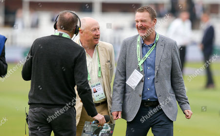 BBC TMS Phil Tufnell (R) & Vic Marks
