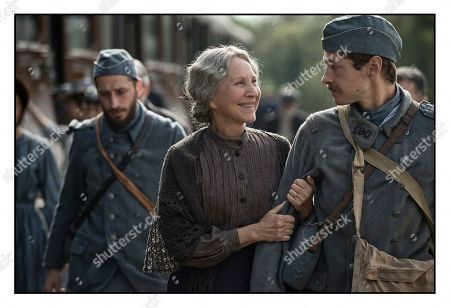 Stock Picture of Nathalie Baye, Cyril Descours