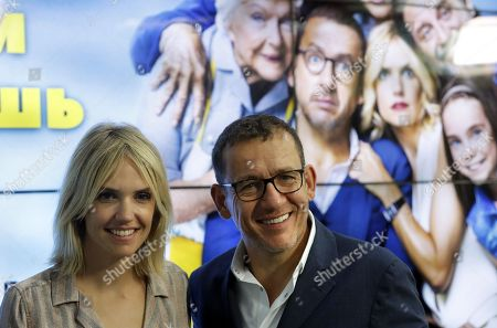 Dany Boon and Laurence Arne