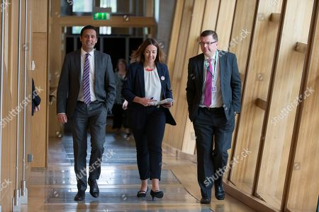 Editorial image of Scottish Parliament First Minister's Questions, The Scottish Parliament, Edinburgh, Scotland, UK - 24 May 2018
