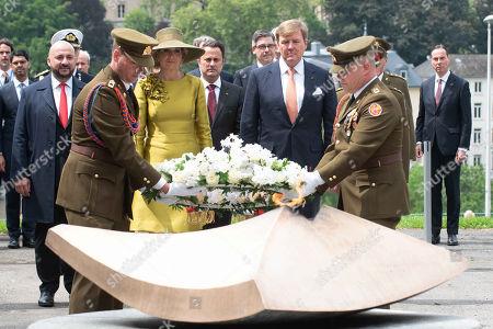 Etienne Schneider, Queen Maxima of the Netherlands, King Willem-Alexander