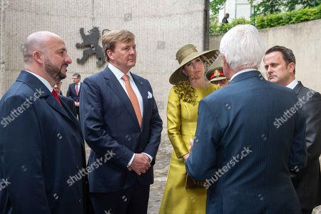 Etienne Schneider, King Willem-Alexander of the Netherlands, Queen Maxima of the Netherlands