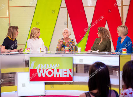 Kaye Adams, Stacey Solomon, Sheila Hancock, Nadia Sawalha and Jane Moore