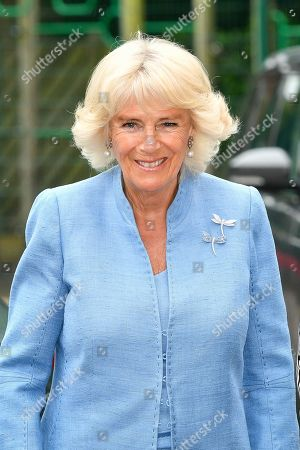 Camilla, Duchess of Cornwall visit to Gloucestershire