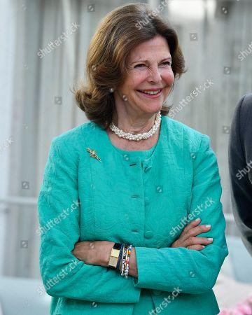 Queen Silvia visit to Silviahemmet, Stockholm