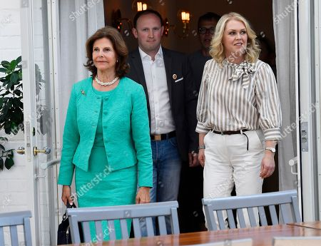 Editorial picture of Queen Silvia visit to Silviahemmet, Stockholm, Sweden - 24 May 2018