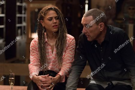 Lenora Crichlow, Vinnie Jones