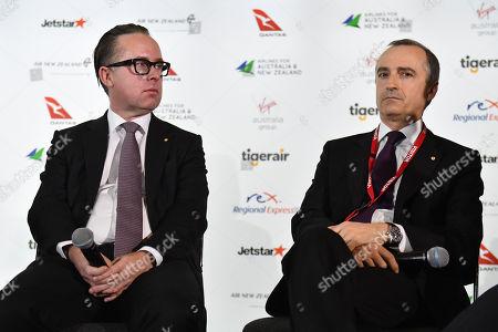 Alan Joyce and John Borghetti