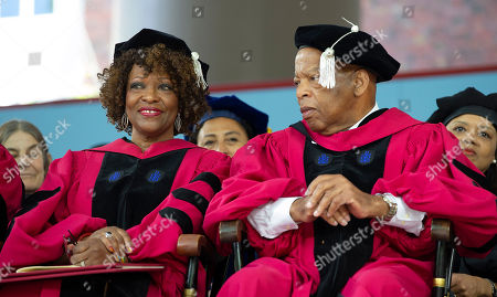 Editorial picture of Harvard Univeristy's 367th Commencement, Cambridge, USA - 24 May 2018