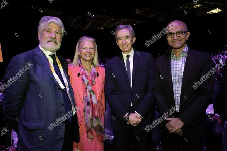 Maurice Levy Chairman of the board Publicis Group, Virginia Rometty Chairman, President and CEO IBM Bernard Arnault Chairman and CEO LVMH and Satya Nadella CEO Microsoft