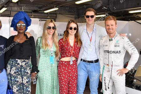Princess Alexandra of Hanover, Ben-Sylvester Strautmann, Nico Rosberg, Vivian Sibold, Khadja Nin