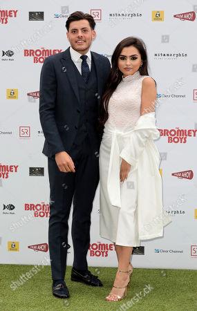 Jordan Brook and Sofia Filipe