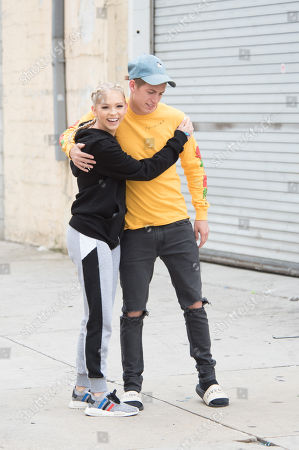 Editorial image of Jordyn Jones out and about, Los Angeles, USA - 24 May 2018