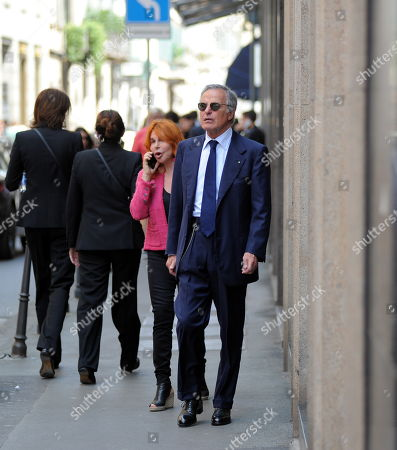 Giuliano Adreani and wife