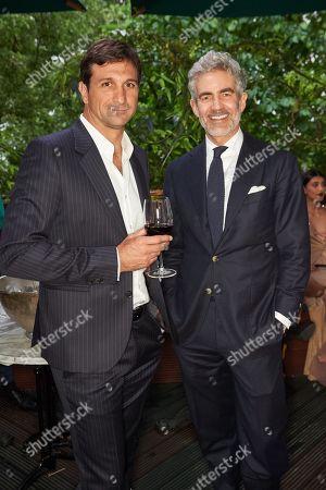 Stock Image of Eduardo Novillo Astrada and Juan Santa Cruz