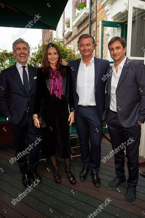 Juan Santa Cruz, Astrid Mu?oz, Laurent Feniou and Eduardo Novillo Astrada