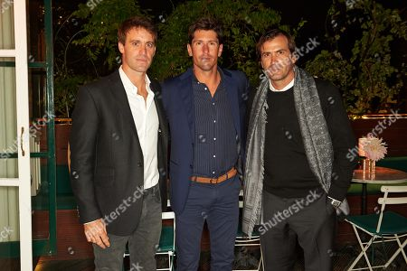 Facundo Pieres, Nicolas Roldan and Adolfo Cambiaso