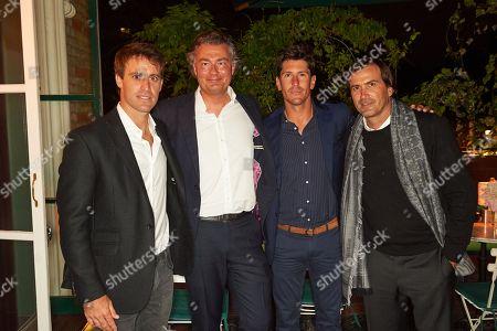 Stock Image of Facundo Pieres, Laurent Feniou, Nicolas Roldan and Adolfo Cambiaso