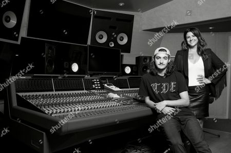 Deacon Frey, Cindy Frey. Deacon Frey, son of the late Eagles co-founder Glenn Frey, left, and his mother Cindy Frey pose for a portrait at Dog House Recording Studio in Los Angeles. Deacon Frey is keeping his dad's legacy alive by touring and performing with the Eagles. Cindy Frey, is the executor of her husband's estate