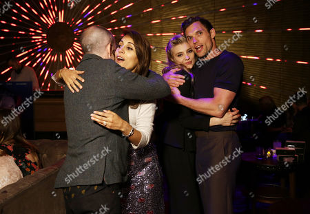 Anthony Byrne, Natalie Dormer, Ed Skrein at 'In Darkness' film premiere after party at Avenue sponsored by Nordstrom Local, Avion Tequila, and Foster Grant.