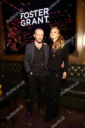 Anthony Byrne, Natalie Dormer at 'In Darkness' film premiere after party at Avenue sponsored by Nordstrom Local, Avion Tequila, and Foster Grant.