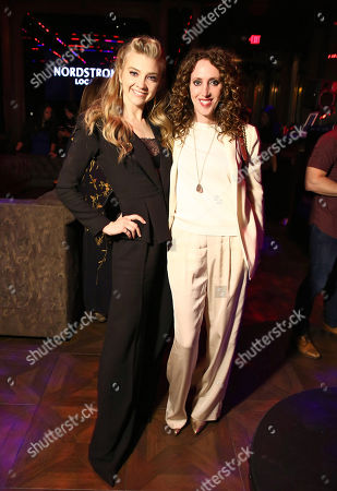 Stock Picture of Natalie Dormer, Jen Rade at 'In Darkness' film premiere after party at Avenue sponsored by Nordstrom Local, Avion Tequila, and Foster Grant.