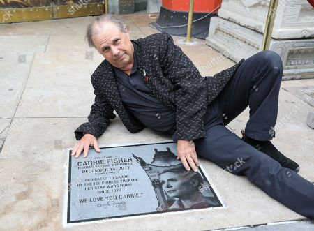 Editorial photo of 'Star Wars' actress Carrie Fisher memorialized with plaque in Hollywood, USA - 24 May 2018