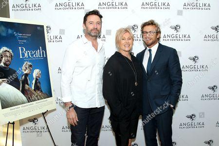 Hugh Jackman, Deborra-Lee Furness, Simon Baker (Director)