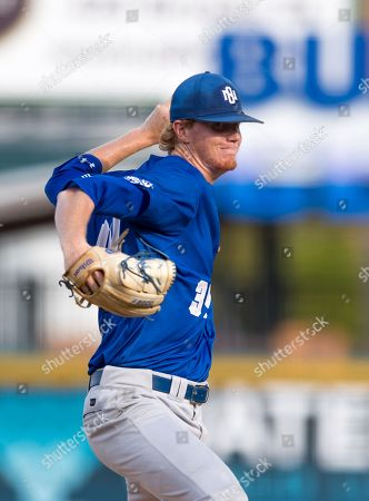 New Orleans pitcher John Stephens (34) during the Southland Conference Championships. Game 3 New Orleans vs Sam Houston at Constellation Field Sugar Land, Texas. No. 8 New Orleans Privateers upended the No. 1 Sam Houston State 4-3 in 10 innings, something the has not happened since 2015