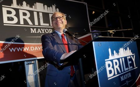 David Briley. Nashville, Tenn., Mayor David Bailey speaks to supporters after winning a special election to remain as mayor, in Nashville. Briley took over as the city's mayor in early March after Megan Barry who pleaded guilty to a felony and resigned amid an extramarital affair with her bodyguard
