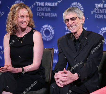 Stock Picture of Anya Epstein and Richard Belzer