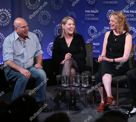 David Simon, Julie Martin and Anya Epstein