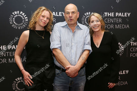 Anya Epstein, David Simon and Julie Martin