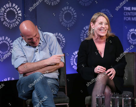 David Simon and Julie Martin