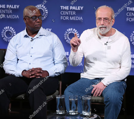 Andre Braugher and Tom Fontana