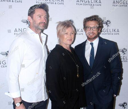Hugh Jackman, Deborra-Lee Furness, Simon Baker
